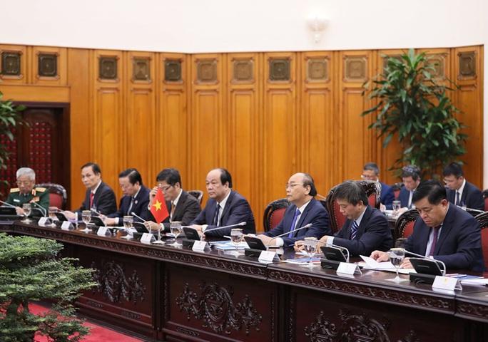 Thủ tướng Nguyễn Xuân Phúc chủ trì lễ đón Thủ tướng Nhật Bản - Ảnh 13.
