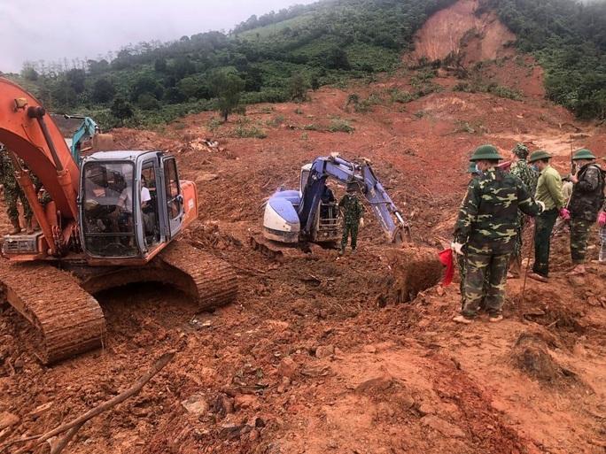 Tìm thấy 3 thi thể cuối cùng vụ 22 cán bộ, chiến sĩ bị sạt lở núi vùi lấp ở Quảng Trị - Ảnh 6.