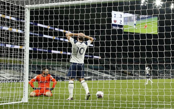 Rượt đuổi tỉ số điên rồ, Tottenham ngỡ ngàng vuột chiến thắng trước West Ham - Ảnh 8.