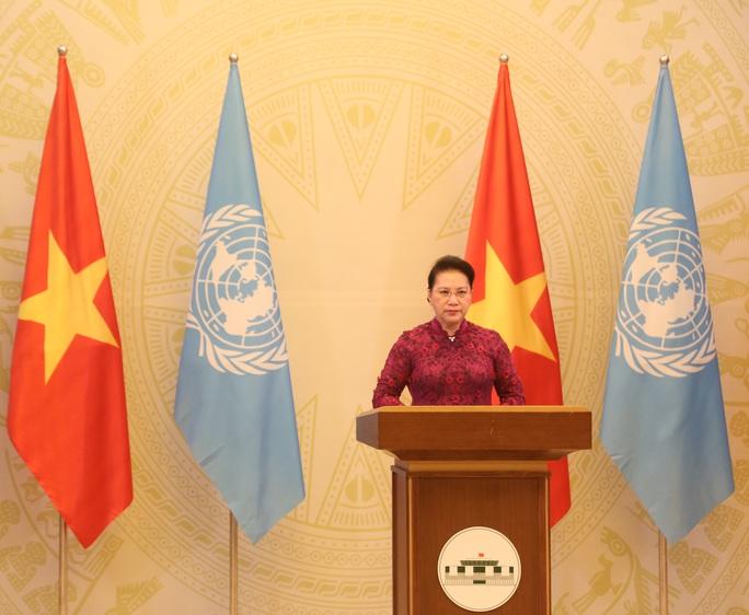 Thông điệp của Chủ tịch Quốc hội Nguyễn Thị Kim Ngân gửi Liên Hiệp Quốc - Ảnh 3.