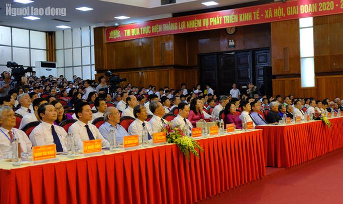 Phó Chủ tịch nước Đặng Thị Ngọc Thịnh dự Đại hội thi đua yêu nước tỉnh Thanh Hóa - Ảnh 1.
