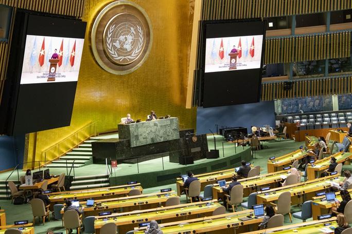 Thông điệp của Chủ tịch Quốc hội Nguyễn Thị Kim Ngân gửi Liên Hiệp Quốc - Ảnh 1.