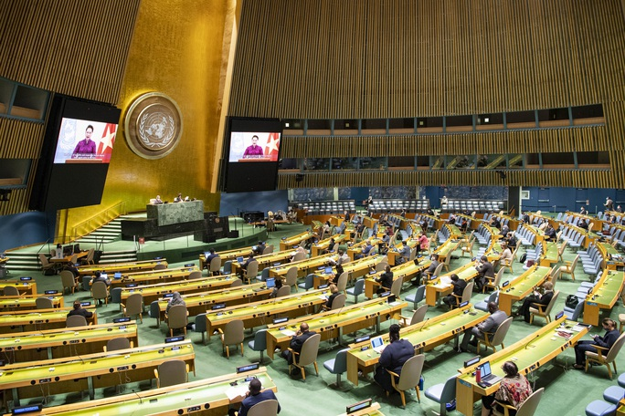 Thông điệp của Chủ tịch Quốc hội Nguyễn Thị Kim Ngân gửi Liên Hiệp Quốc - Ảnh 2.