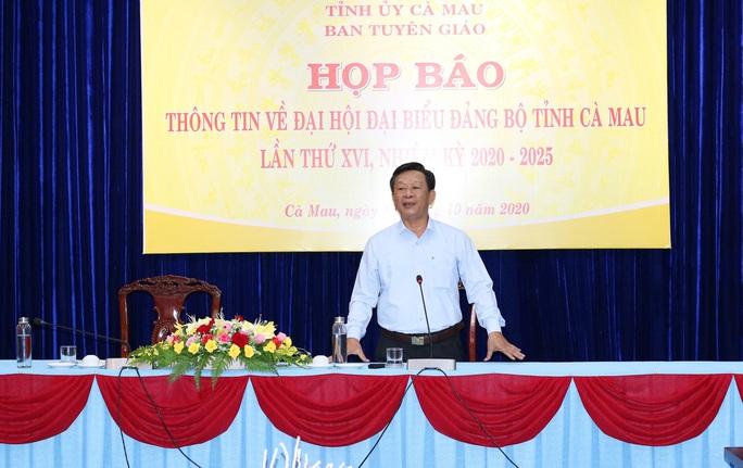 Cà Mau sẵn sàng cho Đại hội Đảng bộ tỉnh lần thứ XVI - Ảnh 1.