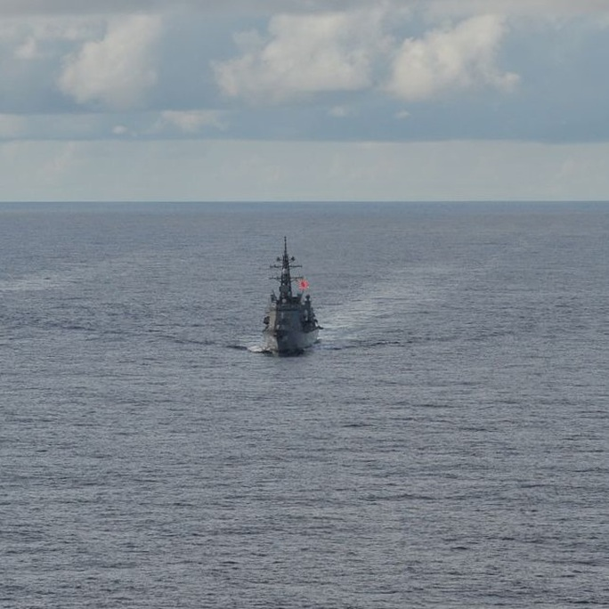 Mỹ, Nhật, Úc tập trận rầm rộ tại biển Đông - Ảnh 4.