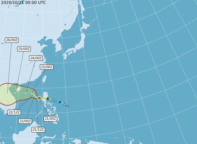 Thêm dự báo hướng đi bão số 8 - Saudel khi vào biển Đông - Ảnh 4.