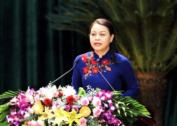 Bà Nguyễn Thị Thu Hà tái đắc cử Bí thư Tỉnh ủy Ninh Bình - Ảnh 1.