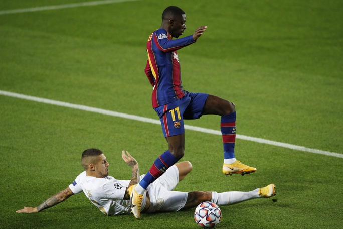 Sao 17 tuổi khai hỏa Champions League, Barcelona đè bẹp Ferencvaros - Ảnh 6.