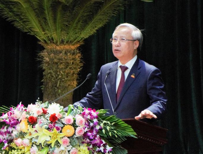 Thường trực Ban Bí thư Trần Quốc Vượng chỉ đạo Đại hội Đảng bộ tỉnh Ninh Bình - Ảnh 3.