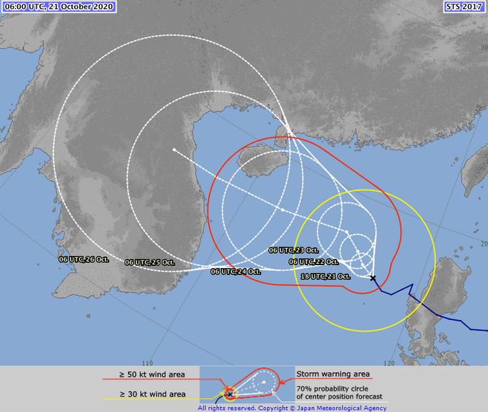 Thêm dự báo hướng đi bão số 8 - Saudel khi vào biển Đông - Ảnh 3.