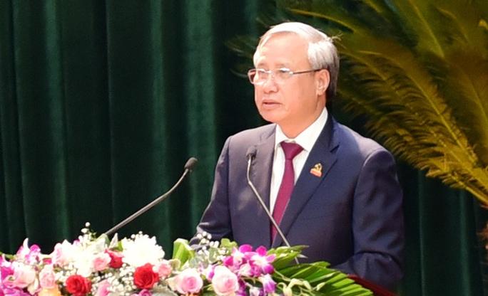 Thường trực Ban Bí thư Trần Quốc Vượng chỉ đạo Đại hội Đảng bộ tỉnh Ninh Bình - Ảnh 1.