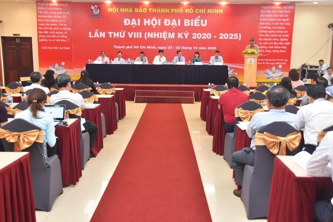 Đại hội Hội Nhà báo TP HCM nhiệm kỳ 2020 - 2025 diễn ra phiên trù bị - Ảnh 1.