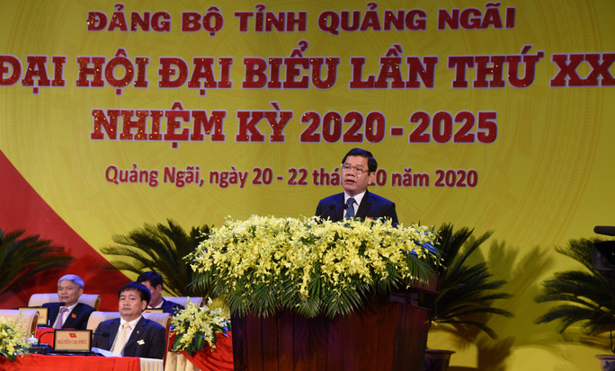Bà Tòng Thị Phóng dự khai mạc Đại hội đại biểu Đảng bộ tỉnh Quảng Ngãi  - Ảnh 6.