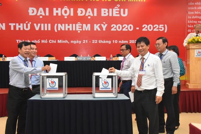 Danh sách BCH Hội Nhà báo TP HCM nhiệm kỳ 2020 - 2025 - Ảnh 1.