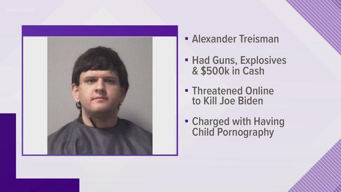 Thanh niên 19 tuổi chất đầy súng, thuốc nổ lên xe để ám sát ông Biden - Ảnh 1.