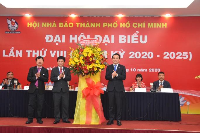 Ông Trần Trọng Dũng tái đắc cử Chủ tịch Hội Nhà báo TP HCM - Ảnh 1.