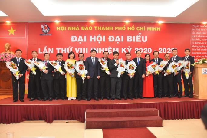 Ông Trần Trọng Dũng tái đắc cử Chủ tịch Hội Nhà báo TP HCM - Ảnh 2.