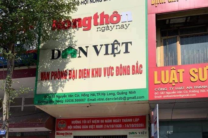 Bắt Trưởng văn phòng đại diện của một cơ quan báo chí trung ương tại Quảng Ninh - Ảnh 1.