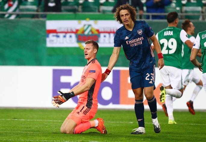 Arsenal suýt lãnh thảm họa thủ môn, ngược dòng hạ Rapid Vienna - Ảnh 5.