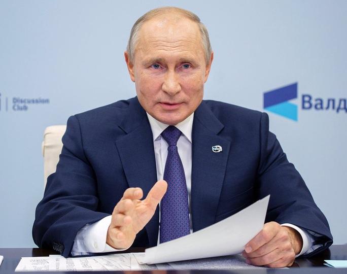Tổng thống Putin nói về liên minh quân sự Nga - Trung - Ảnh 1.