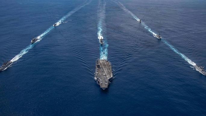 Mỹ - Ấn Độ muốn chia sẻ thông tin tình báo về biển Đông - Ảnh 1.