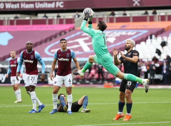 Man City thoát hiểm trước West Ham, tiếp tục văng Top 10 - Ảnh 1.