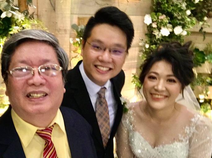 Bình phục sau tai biến, nhạc sĩ Vũ Hoàng cưới vợ cho con - Ảnh 3.