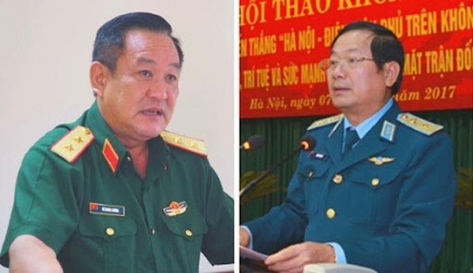 Thủ tướng bổ nhiệm 2 tân Thứ trưởng Bộ Quốc phòng - Ảnh 1.