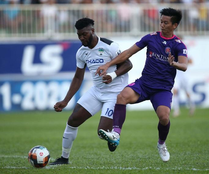 Sài Gòn FC xuất sắc đánh bại HAGL tại thánh địa Pleiku - Ảnh 1.