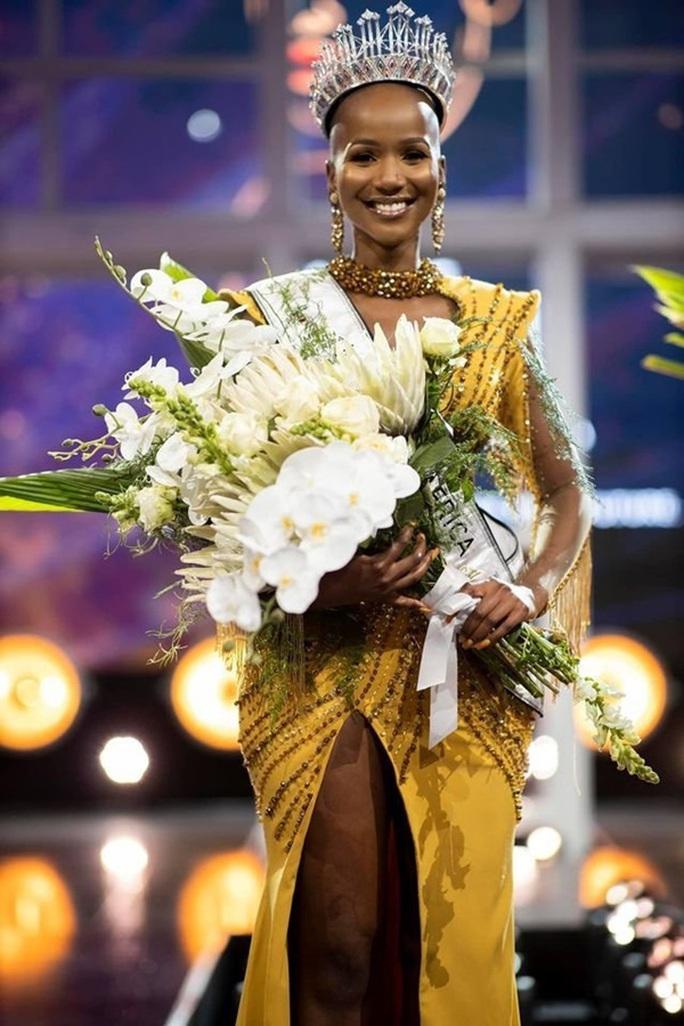 Hoa hậu Nam Phi trọc đầu đoạt mưa giải thưởng - Ảnh 3.
