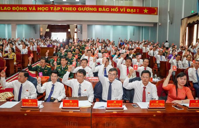 Đại hội Đảng bộ tỉnh Cà Mau lần thứ XVI họp xong phiên trù bị - Ảnh 2.
