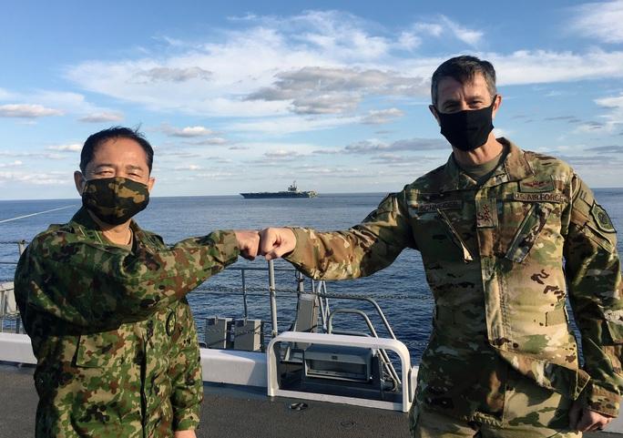 """Mỹ-Nhật phô trương lực lượng """"dọa"""" Trung Quốc - Ảnh 2."""