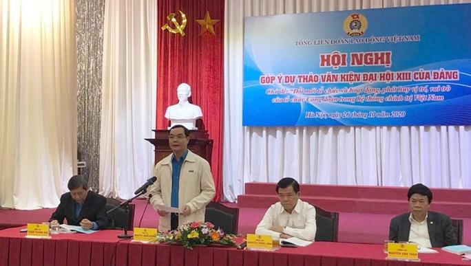 Đóng góp ý kiến tâm huyết cho văn kiện Đại hội XIII của Đảng - Ảnh 1.