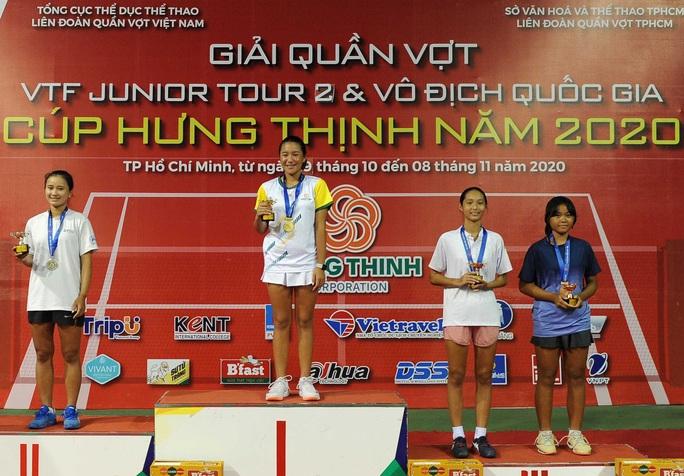 Huỳnh Trần Ngọc Nhi - tài năng trẻ quần vợt Việt Nam - Ảnh 1.