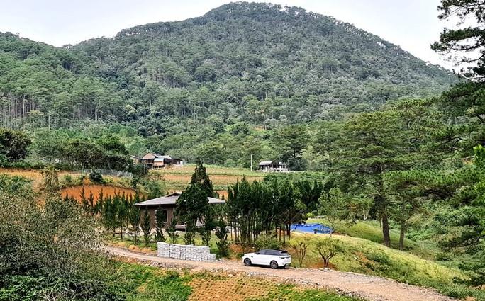 Làng biệt thự vắng chủ xây trái phép trên đất rừng Lâm Đồng - Ảnh 5.