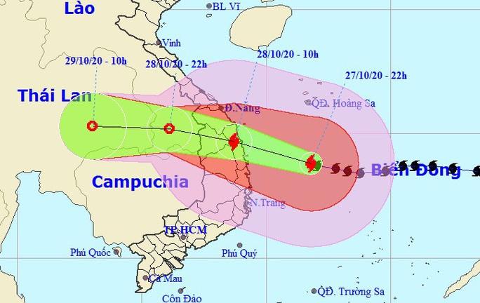 Bão số 9 giật cấp 17 áp sát Đà Nẵng-Phú Yên, đảo Lý Sơn gió giật 26 m/giây - Ảnh 2.