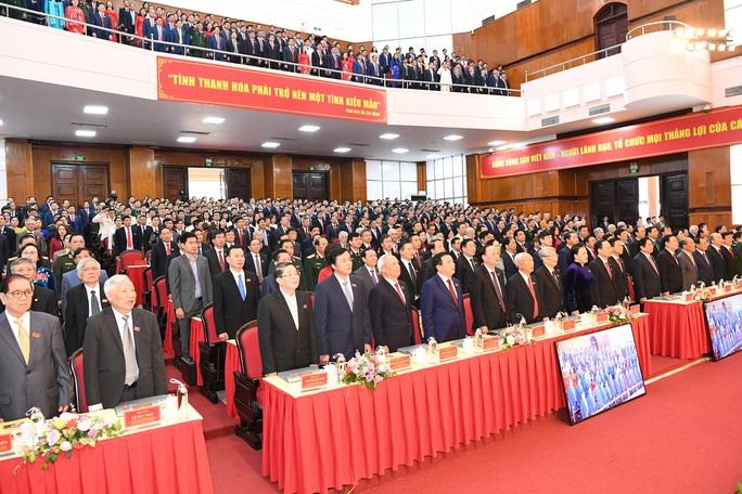 Chủ tịch Quốc hội Nguyễn Thị Kim Ngân chỉ đạo Đại hội Đảng bộ tỉnh Thanh Hóa - Ảnh 4.
