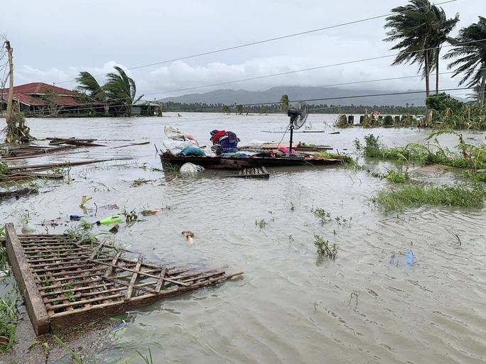 Bão Molave gây thiệt hại diện rộng tại Philippines - Ảnh 4.