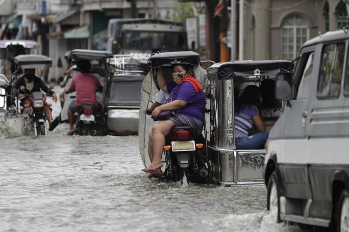 Bão Molave gây thiệt hại diện rộng tại Philippines - Ảnh 8.