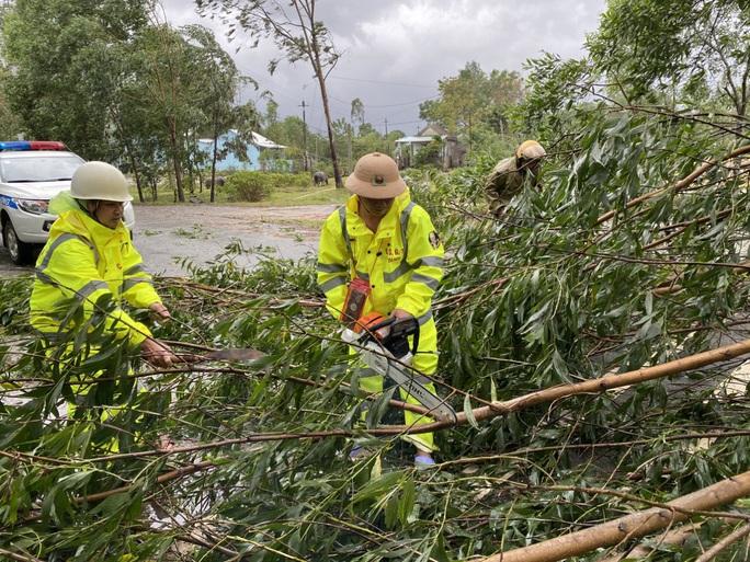 Bão số 9: Thừa Thiên - Huế có gió rất mạnh, cây đổ - Ảnh 1.