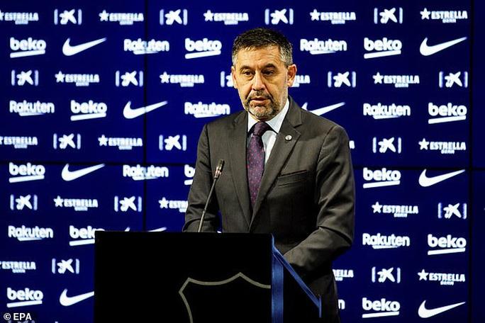 Ông trùm Bartomeu từ chức, Barcelona mơ ngày trở lại - Ảnh 1.