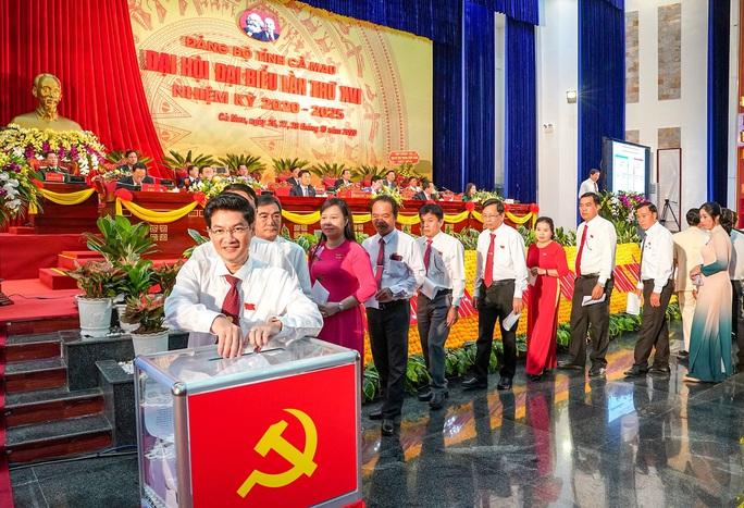 Ông Nguyễn Tiến Hải tái đắc cử Bí thư Tỉnh ủy Cà Mau - Ảnh 3.