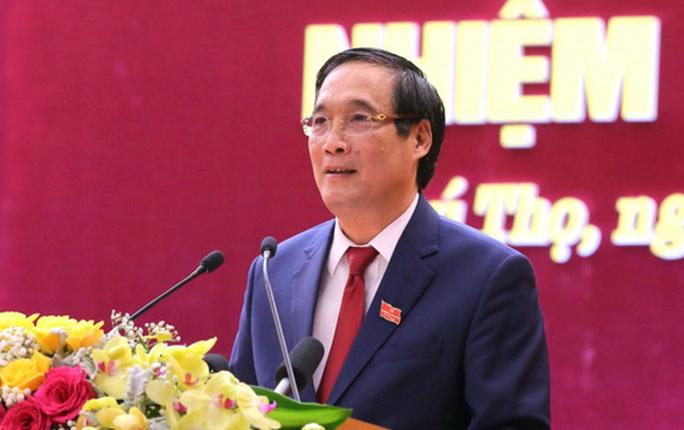 Bí thư tỉnh ủy Phú Thọ 59 tuổi tái đắc cử với số phiếu tuyệt đối - Ảnh 1.