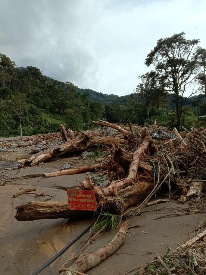 Vụ sạt lở ở Phước Sơn vùi lấp 11 người: Lực lượng cứu hộ phải ngủ lại trong rừng - Ảnh 3.