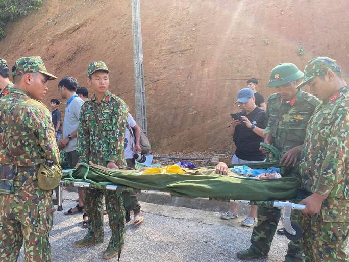 Vụ sạt lở núi vùi lấp ở xã Trà Leng: Cứu sống được 33 người - Ảnh 11.