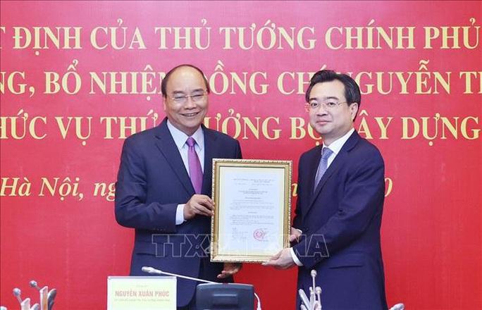 Thủ tướng trao quyết định bổ nhiệm ông Nguyễn Thanh Nghị làm Thứ trưởng Bộ Xây dựng - Ảnh 1.