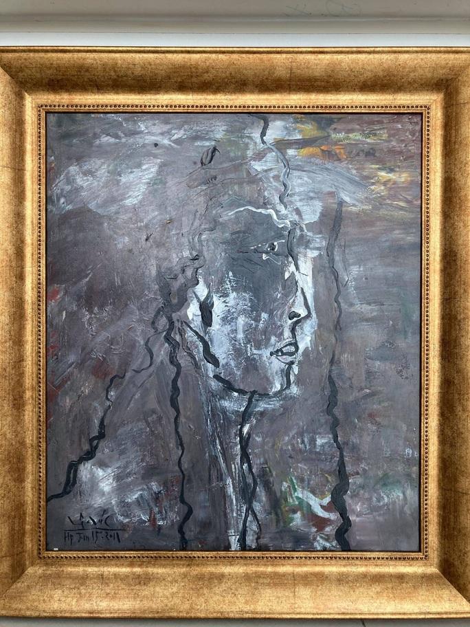 Họa sĩ Lê Đại Chúc tái xuất với những bức tranh không thể rời mắt - Ảnh 3.