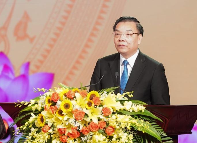 Thủ tướng Nguyễn Xuân Phúc dự đại hội thi đua yêu nước Hà Nội - Ảnh 2.