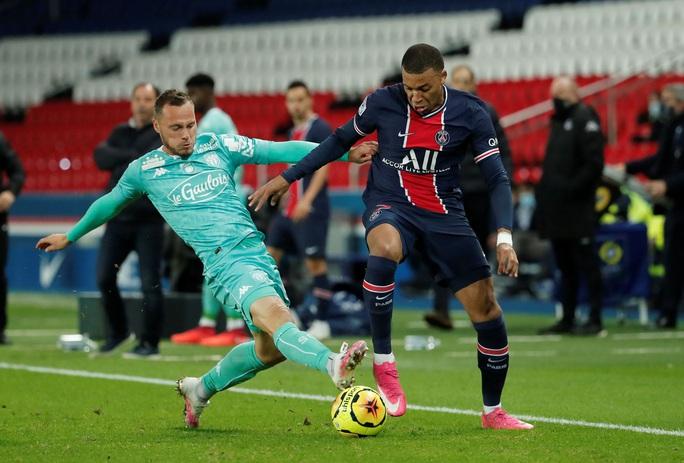 Song sát Neymar và Mbappe săn bàn, PSG đè bẹp đối thủ bằng ván đấu tennis - Ảnh 3.