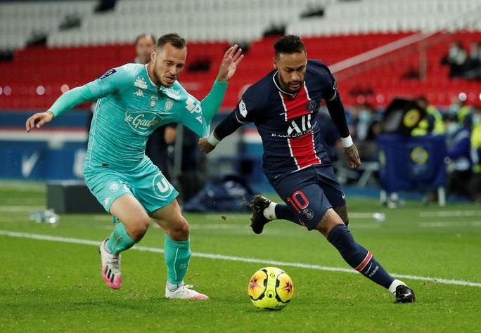 Song sát Neymar và Mbappe săn bàn, PSG đè bẹp đối thủ bằng ván đấu tennis - Ảnh 1.